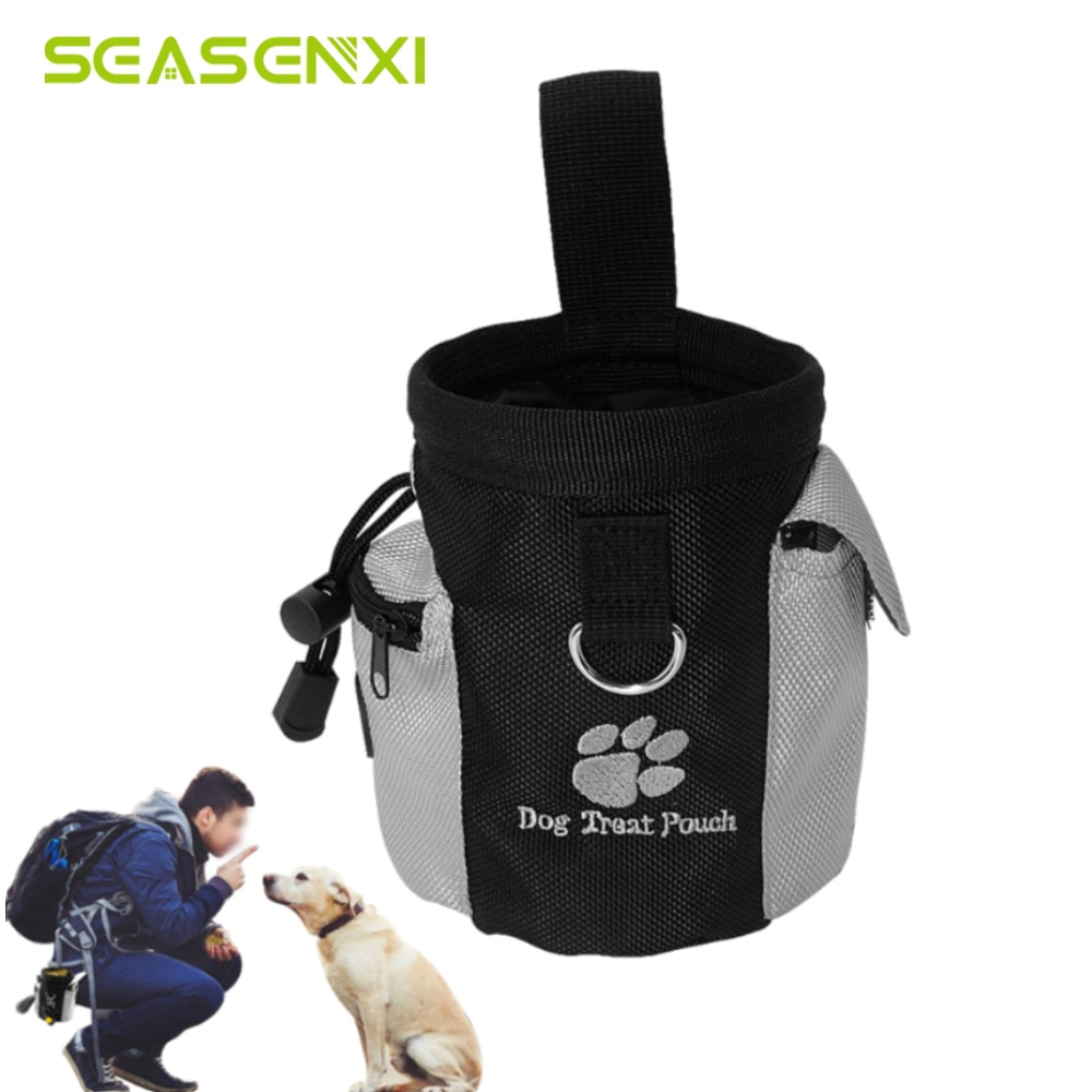 Portable Pet Dog Treat Pouch Obence Agility Training Bags Detachable Pup Feed Pocket Puppy Snack Reward Waist Bag